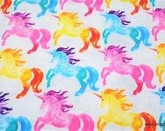 XXS-L Rainbow Unicorns with Detail Bandana