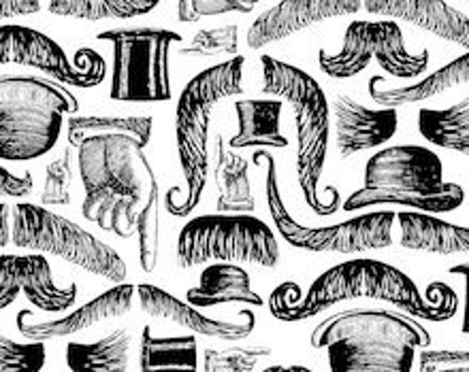 XXS-XXL Lookin' Dapper Mustache Bandana