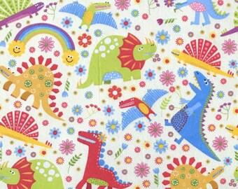 XXS-XXL Colorful and Fun Dinosaurs Bandana Bib