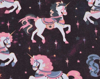 XS-XXL Carousel Unicorns Bandana Bib