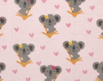 MTO Adjustable, Snapped Bandana Bib XXS-XXL Koala Cuties