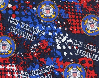 XXS-XXL United States Coast Guard Bandana Bib