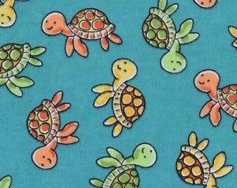 XXS-XXL Happy Swimming Baby Turtles Bandana