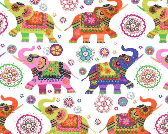 XXS-S Patterned Elephants Bandana