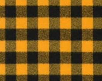 XXS-XXL Black and Gold Bandana Bib - Reversible or Frayed