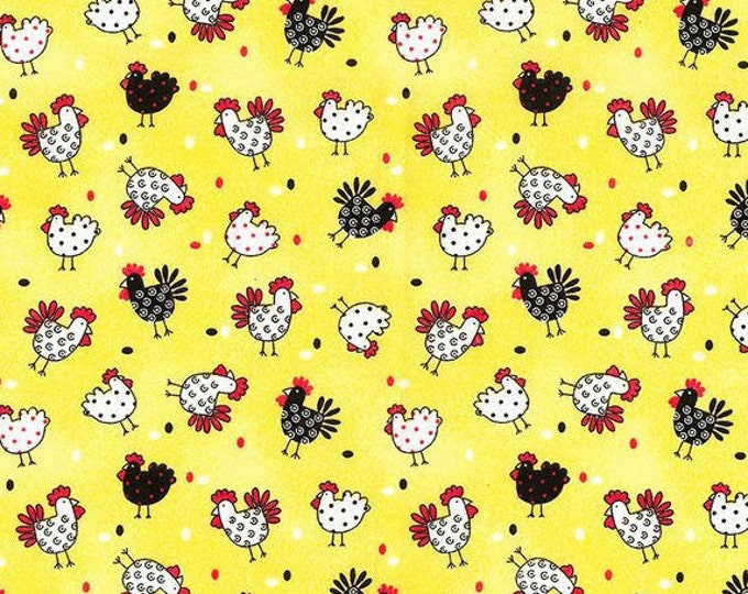 XXS-XXL Chickens and Roosters Bandana .