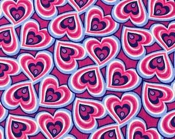 XXS-XL Hearts Cascading into Hearts Bandana Bib