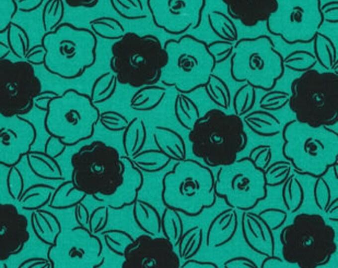 XXS-XXL Teal and Black Floral Bandana