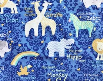 S-XXL Inspirational Safari Animal Bandana Bib