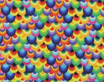 XXS-XXL Colorful Small Scales Bandana Bib