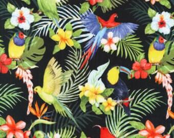 S-XXL Tropical Birds In Paradise Bandana