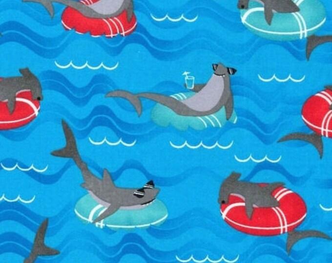 Bandana Bib XXS-XXL When Sharks Get Tired, They Just Float Along
