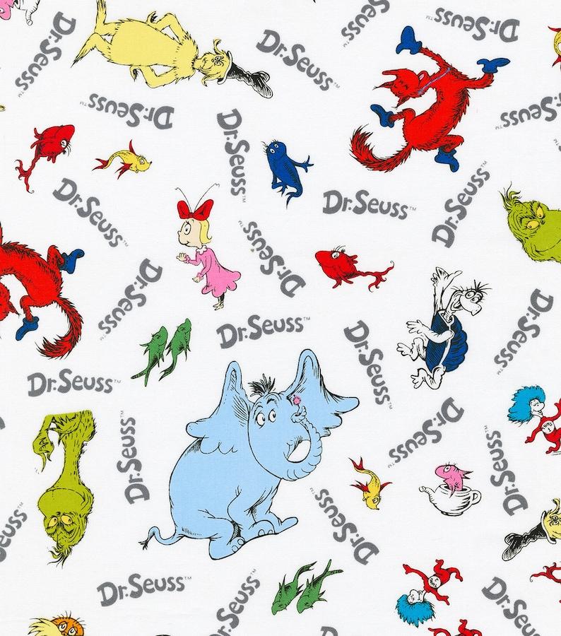 XXS-XXL Dr Seuss Characters Bandana