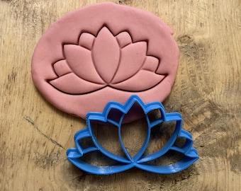Lotus Flower Fondant  Cookie Cutter  Baking  Gift  Birthday  Gardening  Party Favor Baby shower