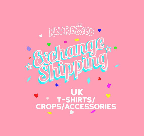 6df83a743 EXCHANGE SHIPPING FEE - T-shirts/Crop Tops/Accessories (not baseball cap)