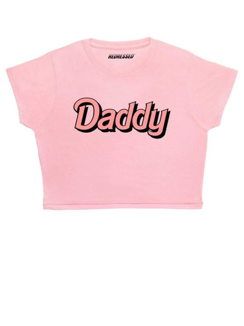 FREE UK Shipping Daddy Crop Top Kawaii Crybaby Baby  58f7d154c65b
