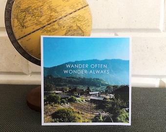 Wander Often   North Bali Travel Print