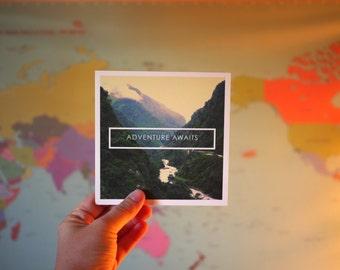 Adventure Awaits   Nepal Travel Print