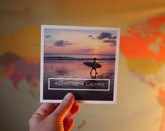 Adventure is Calling   Bali Travel Print