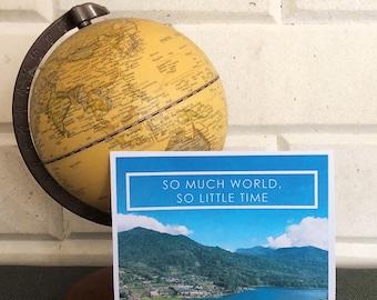 So Much World   North Bali Travel Print