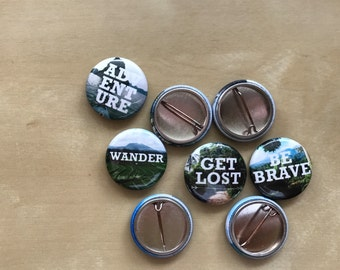 Travel Buttons 4 Pack