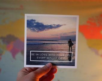 Love Your Life   Bali Travel Print