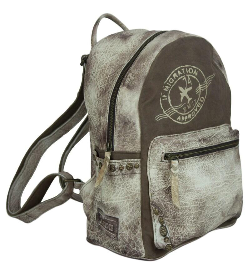Backpack Bag Shoulder Bag Canvas Satchel Backpack Backpack Canvas Backpack Canvas Bag Knapsack Large Bag College Bag