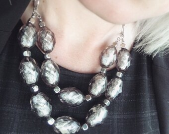 Icy Statement Necklace