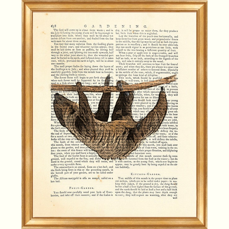 Sloth Gifts, Sloth Wall Art, Sloth Print, Animal Prints, Dictionary Art Print, Wild Life Art, Book Page Art, Sloth Wall Decor, Sloth Poster