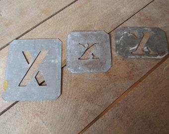 Letter stencils - Vintage | Etsy UK
