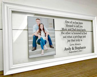 Parents Wedding Gift Parents of the Bride Gift Parents of | Etsy