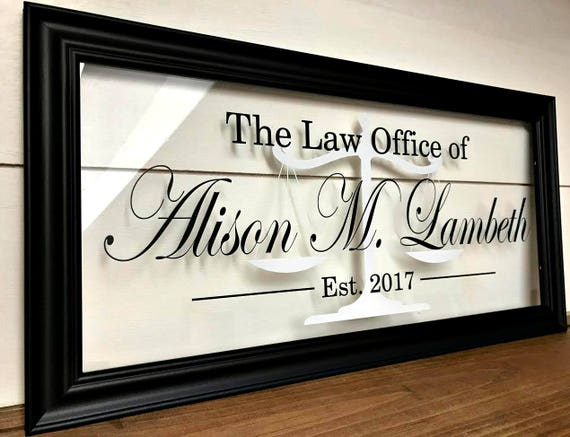 Merveilleux Gifts For Attorneys Lawyer Gift Law Office Decor Gifts For | Etsy