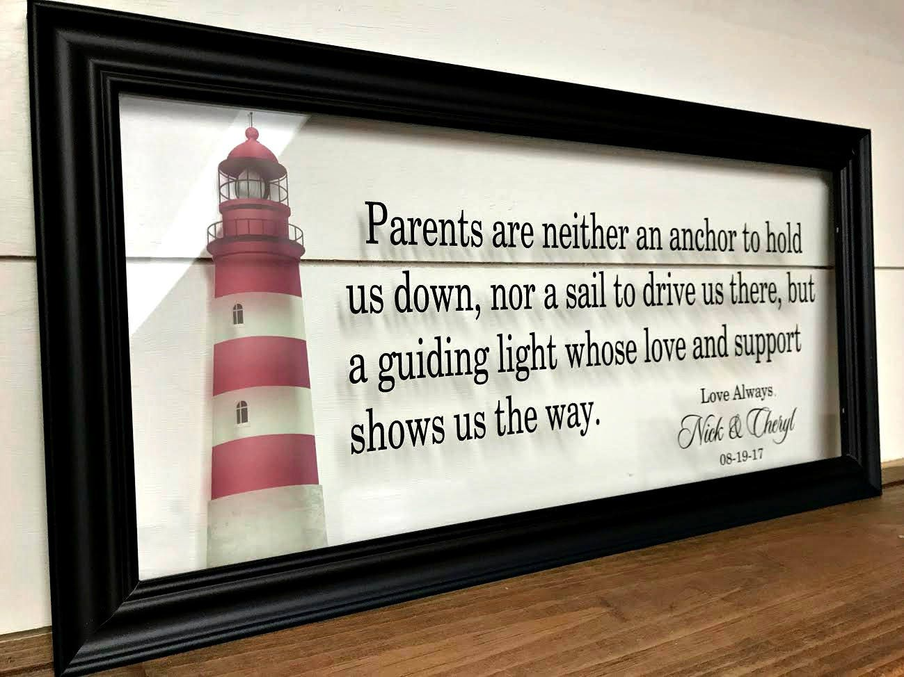 Parents Wedding Gift Ideas