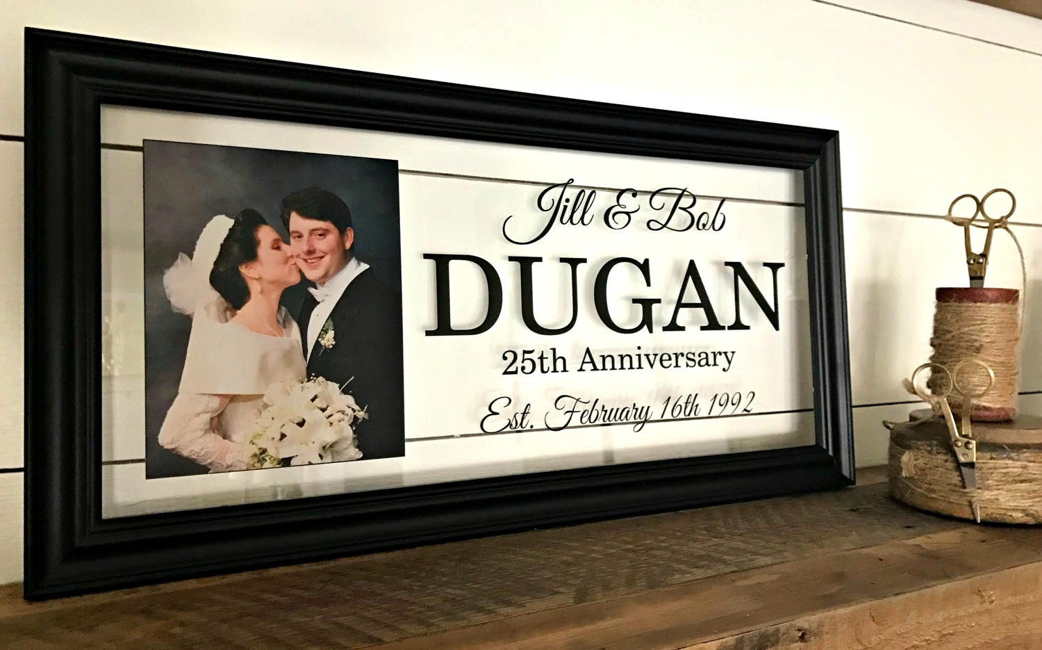 25th Anniversary Ideas For Husband: 25th Anniversary Gift 25th Anniversary Husband Gift 25th