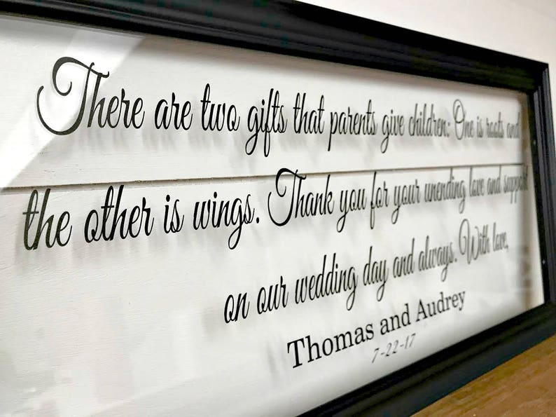 Parents Wedding Gift Mother of the Groom Gift Gifts for Parents Wedding Gifts for Parents Parent Gift Parents Wedding Gift Frame 207