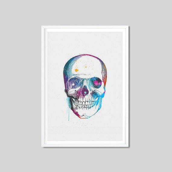 Vintage Medical Illustration Skull Teeth Dental Anatomy Real Canvas Art Print 2