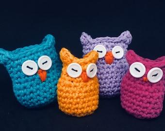 PDF Pattern: Wise Owl Chair Leg Socks Crochet Pattern