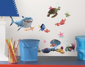 Wall Tattoo Wall Sticker 3D Find Nemo Dory Wall Sticker Disney W 145 Window