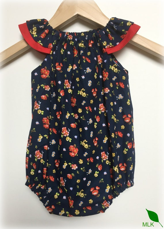 59e86f4354f Handmade Baby Girls Romper Playsuit Sizes 000000 1