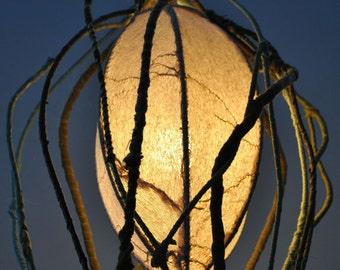 Seed Pod light sculpture