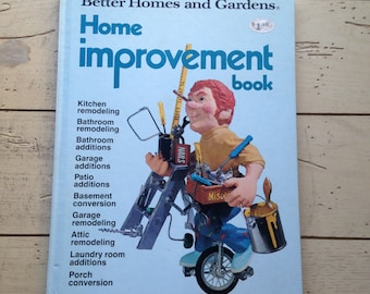 BHG Home Improvement First Edition 1973 Vintage Book