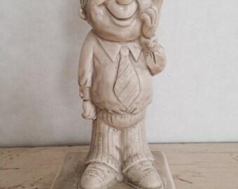 W & R Berries Sillisculpt Happy Birthday Figurine 1971