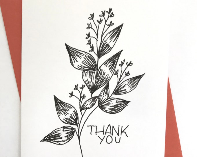 Set Of 5 Cards || Thank You