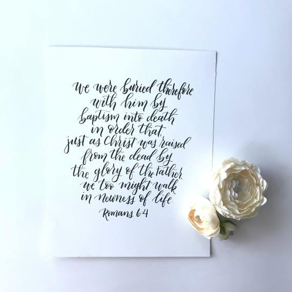 8x10 Romans 6:4