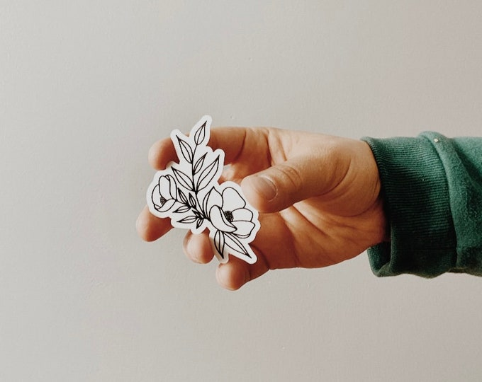 Featured listing image: Flower Sticker
