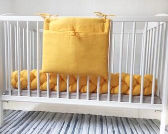 Storage Basket, Nursery, Crib Bumper, Laundry Bag, Storage Sack, Pyjama  Storage