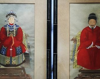 Vintage Chinese Ancestor Portraits (2)