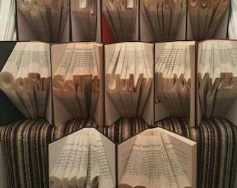 Book Folding Forever By Bookfoldingforever On Etsy