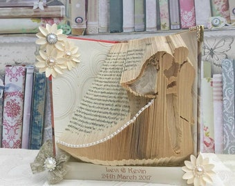 Mr&Mrs Wedding couple cut and fold combi book folding pattern 635 pages