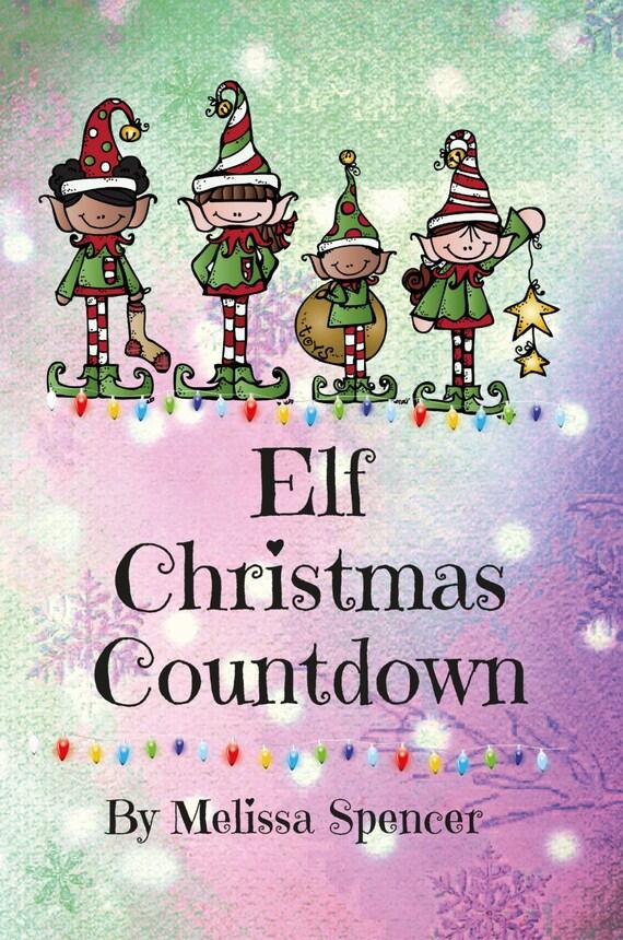 Elf Christmas Countdown Buch, Weihnachtself